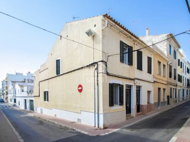 Town House with garage and terrace in Mahón, Menorca