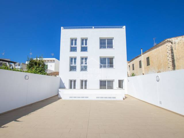 PROMOTION of 7 brand new apartmentsin Ciutadella, Menorca