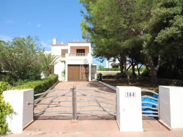 Villa in Punta Grossa, Menorca.