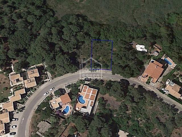 Solar edificable en Addaya, Menorca