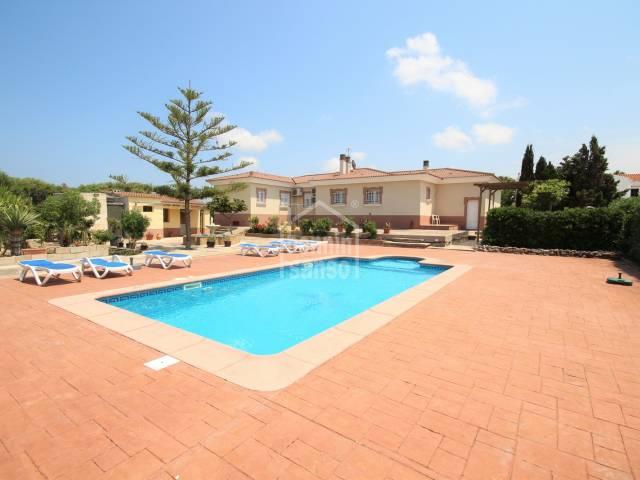 Fantastic villa in Cala'n Blanes, Ciutadella, Menorca.