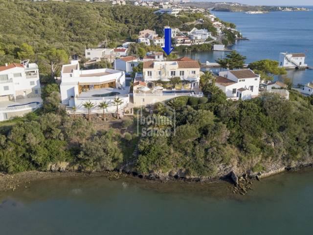 Luxury front line property in Mahon harbour, Menorca