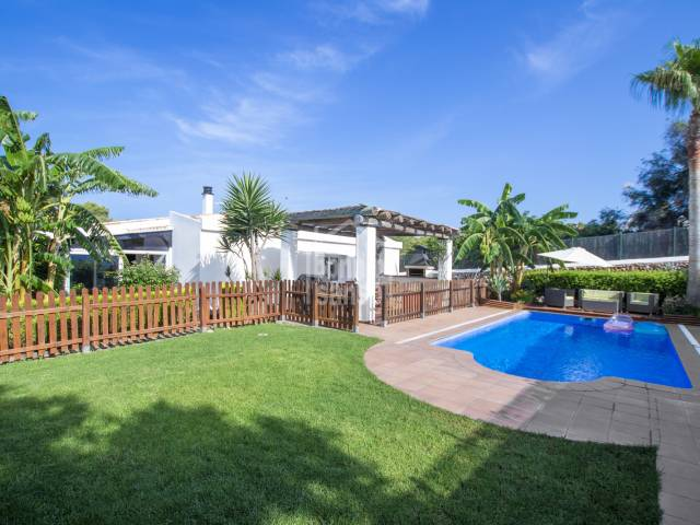 Chalet with tourist license in Binibeca, Menorca