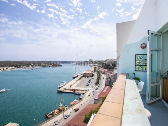 Vivienda con impresionantes vistas al puerto de Mahón, Menorca
