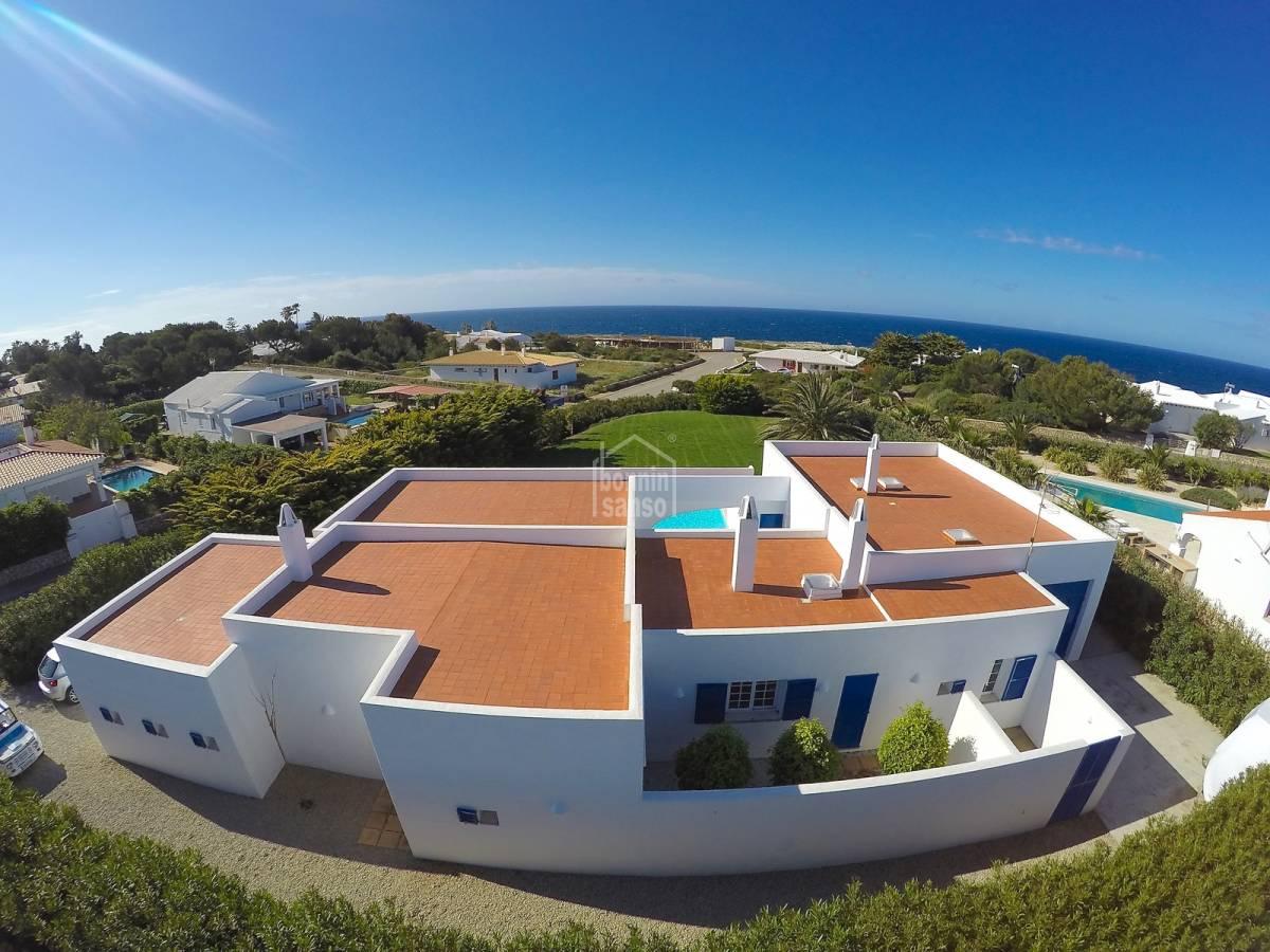 Comprar chalet de lujo con piscina y vistas al mar en binidal menorca 22919 - Casas de lujo en menorca ...