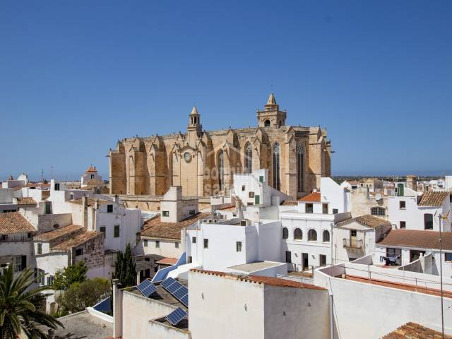 Large typical house in the old town of Ciutadella, located in one of the most prestigious and emblematic streets of the city Menorca