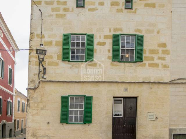 Authentic townhouse is Alayor Menorca