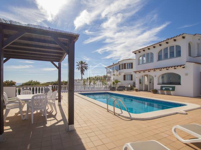 Villa with sea views, Addaya, Menorca