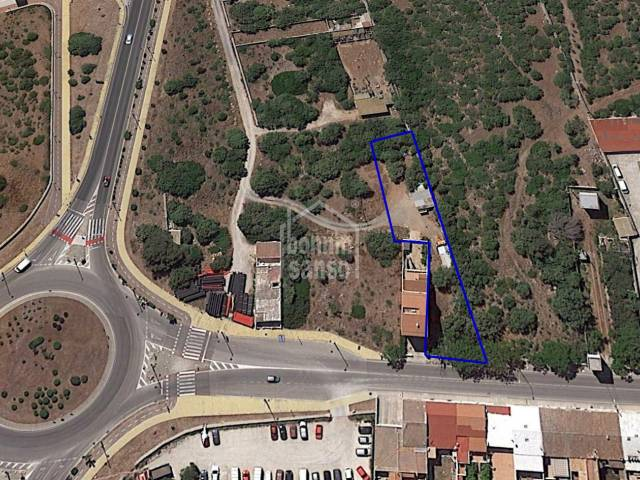 Land for sale on the outskirts of Mahon, Menorca
