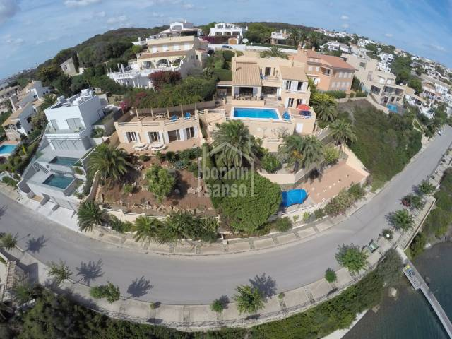 Luxury waterside property in Mahon Harbour,Menorca