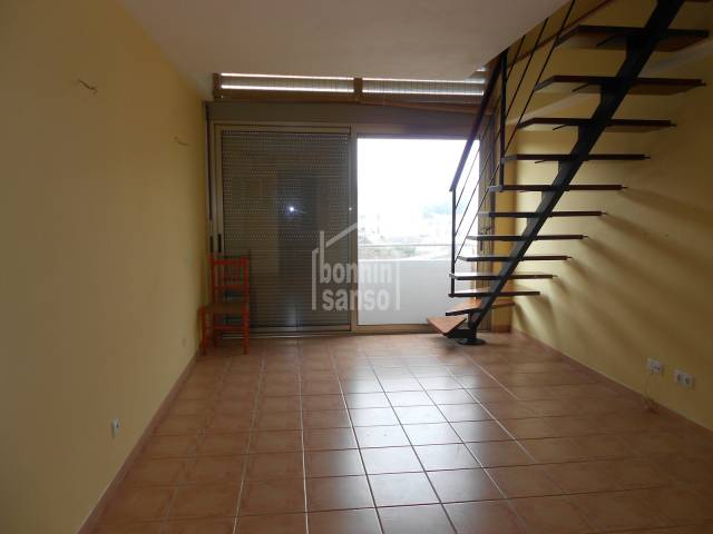 Duplex property located in the town centre of Mercadal