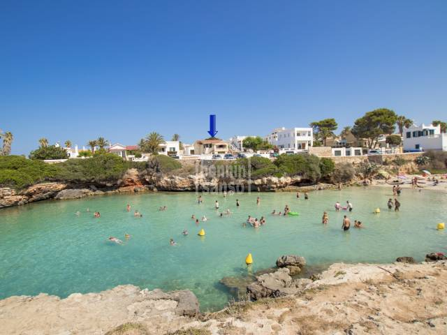 Front line villa in prime location in La Caleta, Ciutadella, Menorca