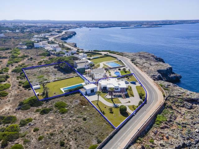 Probablemente una de las mejores vistas de la bahia de Ciutadella, Menorca