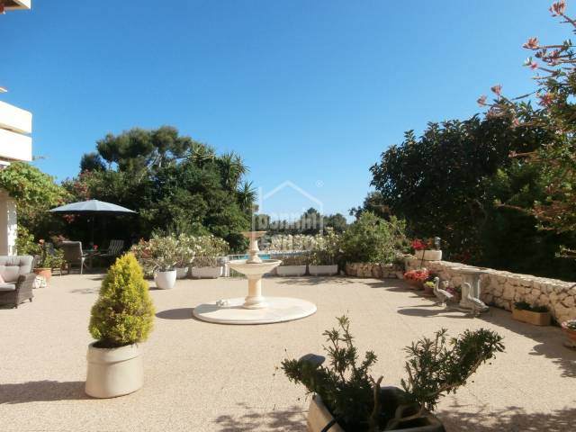 Spectacular ground floor apartment with direct views of Son Servera Golf course,