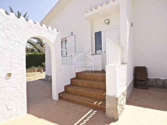 Chalet reformado en Torre Soli Nou, Menorca