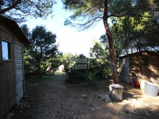 Plot of land in Los Delfines, Calan Blanes, Ciutadella, Menorca