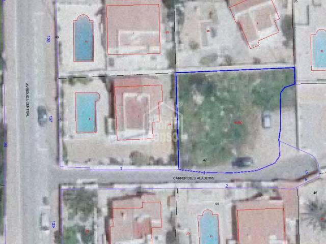 Plot of land in Calan Porter, Menorca