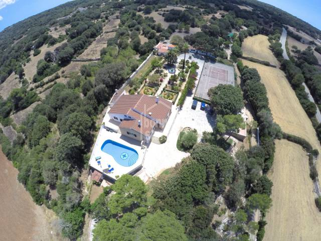 Magnífica casa de campo en las afueras de Alayor, Menorca
