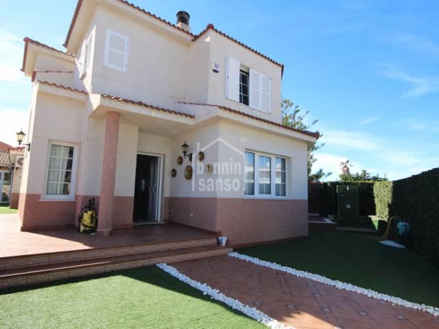Attractive villa in Cala Blanca, Ciutadella, Menorca