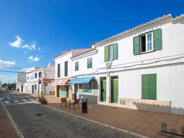 Ground floor town house with a large patio in San Luis, Menorca