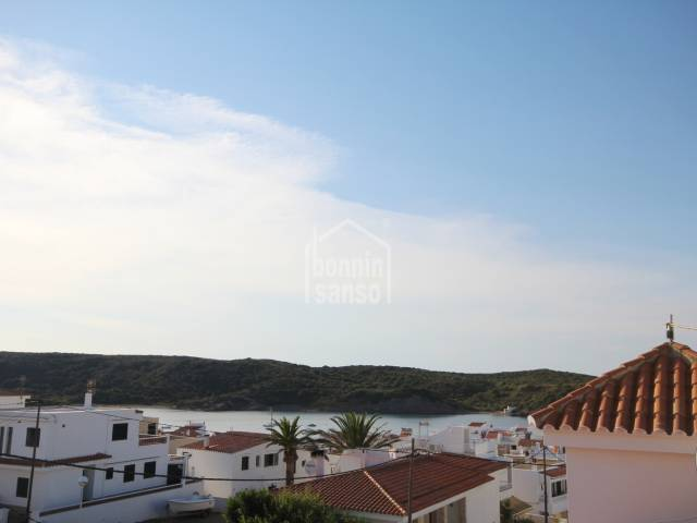 Panoramic sea views over the Island of colom, Es grau.