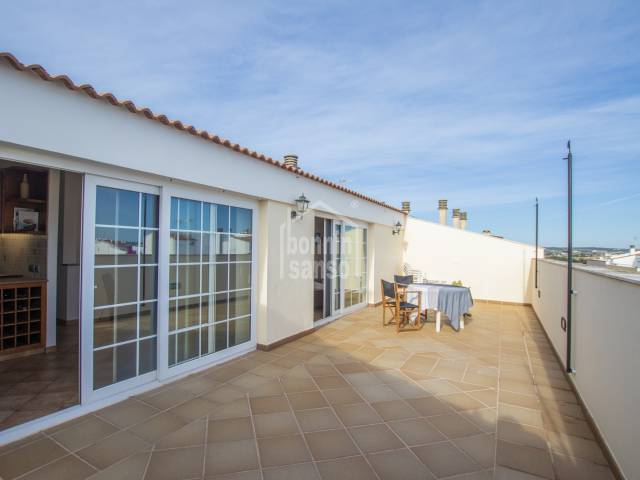 EXCLUSIVE LISTING Beautiful penthouse in a quiet area of Ciutadella, Menorca
