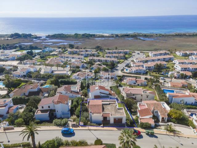 Superb villa in San Jaime with sea views, Menorca