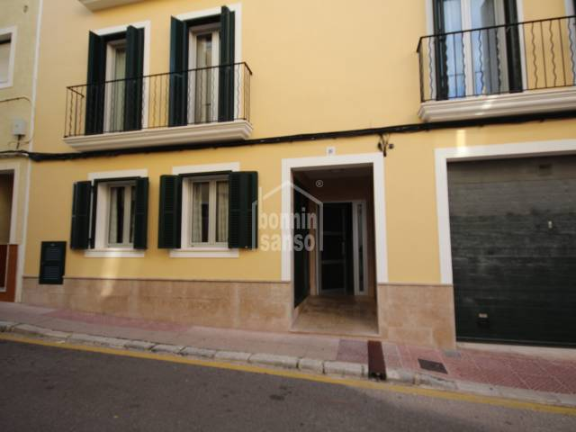 Ground floor in the centre of Mahon, Menorca.