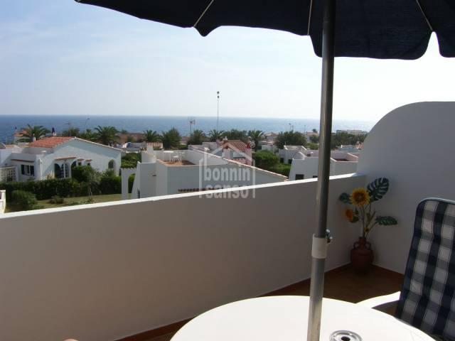 Apartment mit Meerblick in S'Algar, Menorca