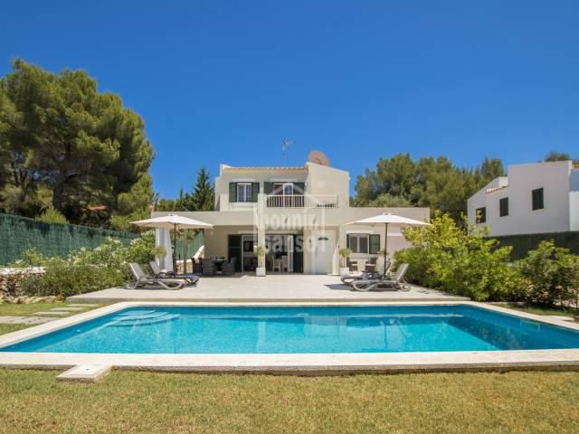 Superb villa in Son Parc, Menorca