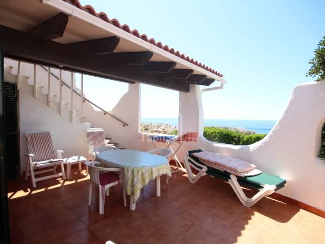 Chalet primera línea costa sur en Cap d'Artrutx,  Ciutadella, Menorca