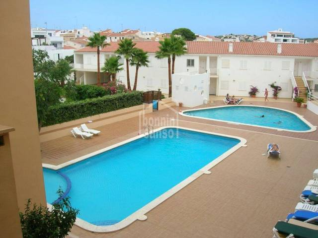 Apartment ideal for summer holidays or living all year round.Es Castell Menorca