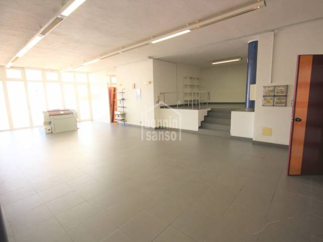 Large commercial space and terrace very close to the Old Town, Ciutadella, Menorca