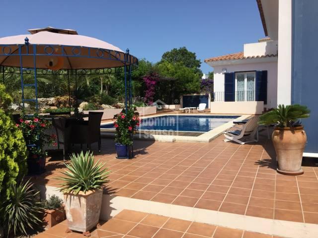 Beautifully kept home in Binixica, Menorca