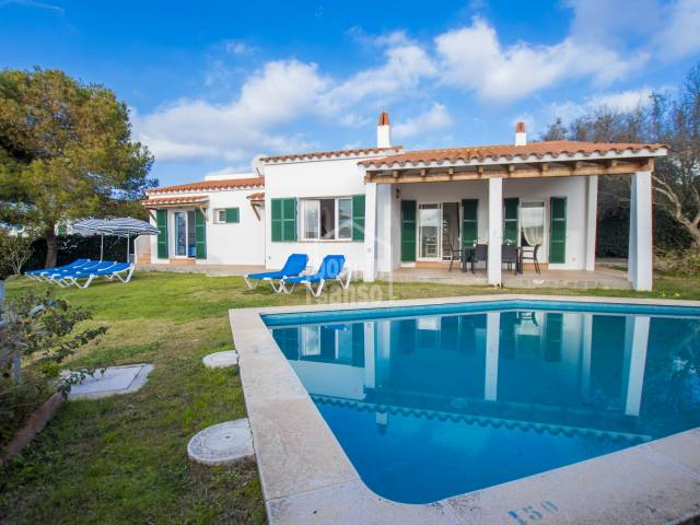 Pretty villa in Binibeca, Menorca