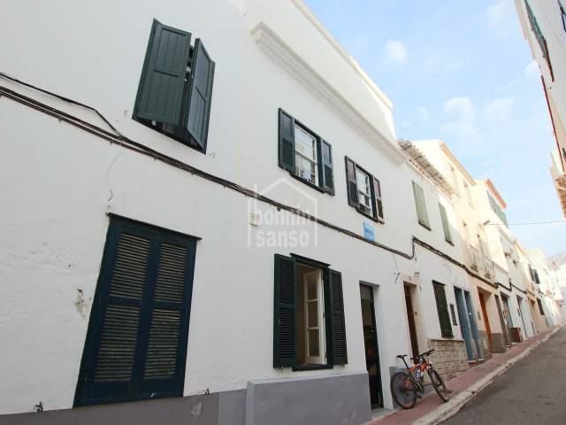 Town house close to the town center Mahon. Menorca