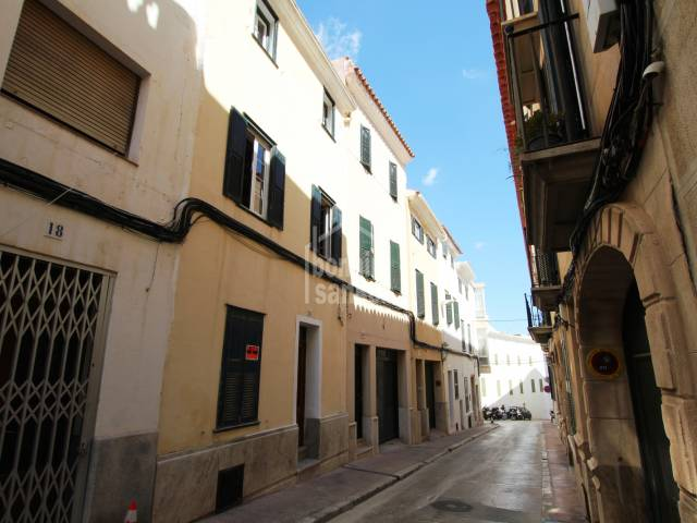 Town house, central Mahon, Menorca