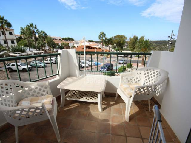 One bedroom apartment in the center of Calan Porter, Menorca
