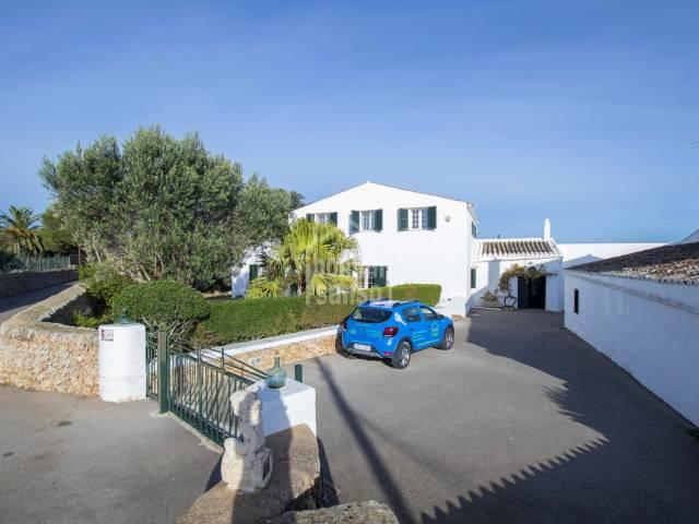Large villa in Llumasanas, Menorca