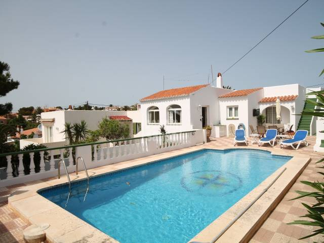 Swimming Pool - South-westerly facing villa in Cala en Porter