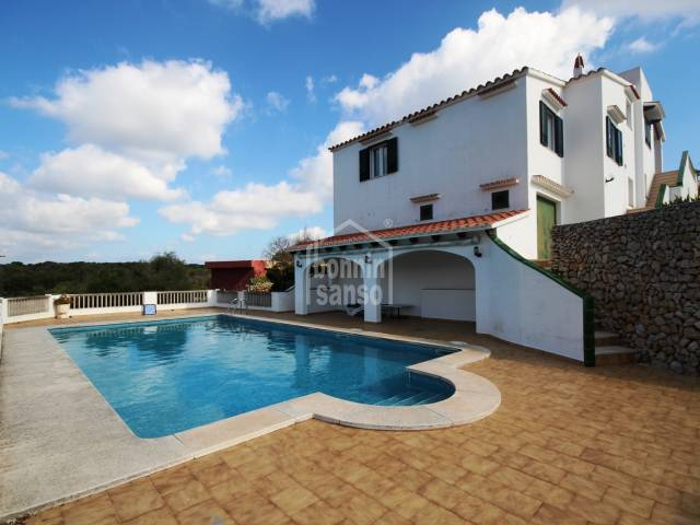 Villa with sea views near to the beach of Binibeca