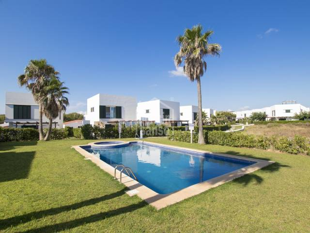 Modern villa with sea views and within walking distance from Arenal den Castell beach Menorca