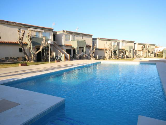 Apartment with pool next to the beach of Calan Forcat, Los Delfines, Ciutadella, Menorca