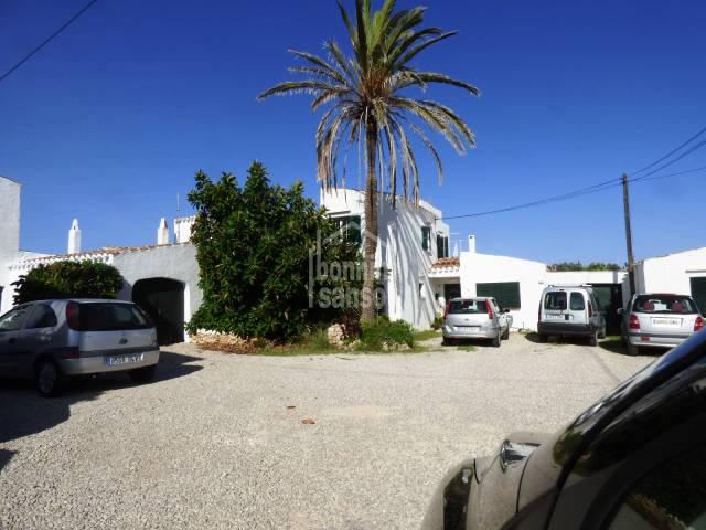 Semi detached, two storey house in Son Vilar.Menorca