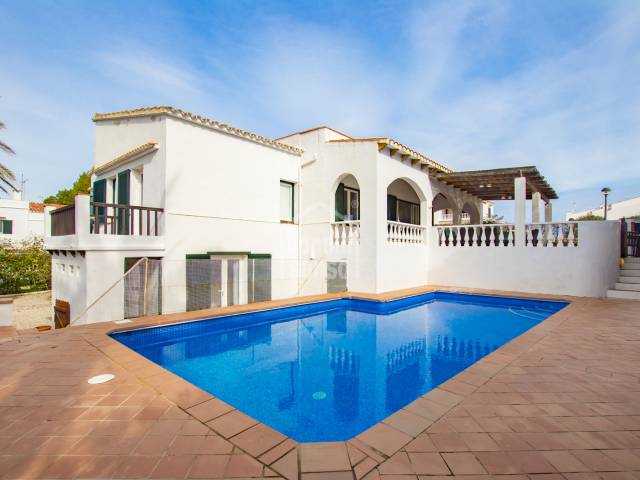 Attractive villa close to Arenal D'en Castell beach