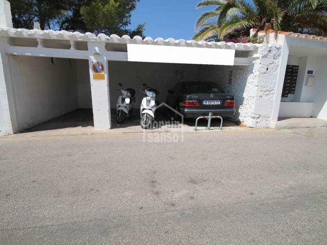 Parking space in Binibeca Vell, San Luis, Menorca