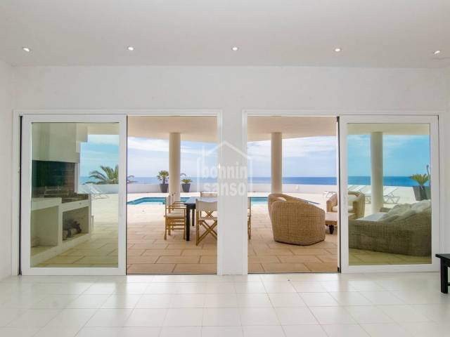 Sea front property  in Binidali, Menorca
