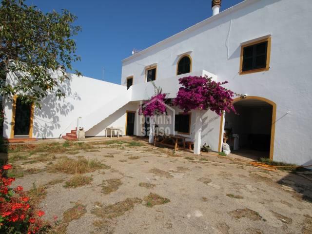 Rustic property near Son Xoriguer, Ciutadella, Menorca.