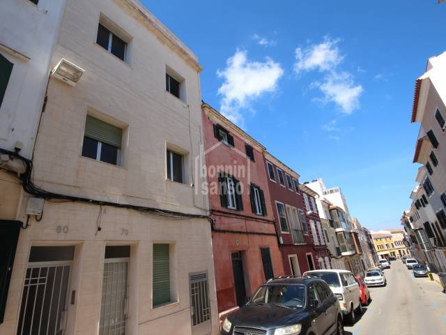 Two flats sold together in Mahon, Menorca