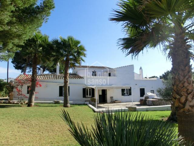 Front - Authentic Menorcan farmhouse near Sant Lluis